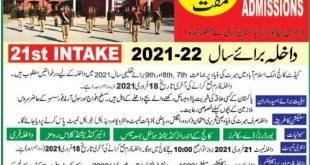 Cadet College Admission 2021 Class 6th 7th 8th 9th Application Form Online Eligibility Criteria Last Date