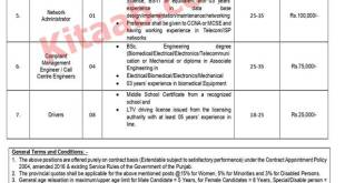NTS Test of Primary and Secondary Healthcare Department Punjab Jobs 2021 Application Form Dates Venue Roll Number Slips Download