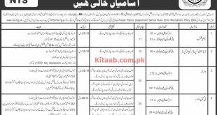 Punjab Prison Department Hafizabad NTS Jobs 2021 Online Application Form Last Date