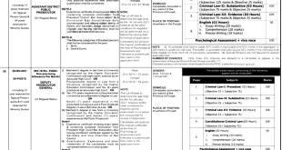 Punjab Public Prosecution Department Jobs 2021 by Public Service Commission Eligibility Criteria Online Registration