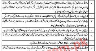 Livestock and Dairy Development Department Punjab Jobs 2021 Application Form Roll Number Slip Result