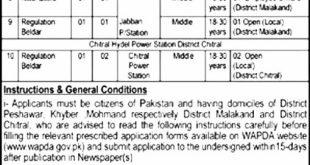 Pakistan Water And Power Development Authority WAPDA Jobs 2021