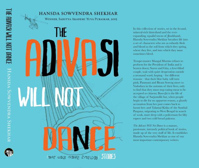 THE ADIVASI WILL NOT DANCE - COVER FOR KITAAB INTERVIEW