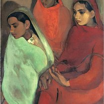 Three women -- Amrita Shergil