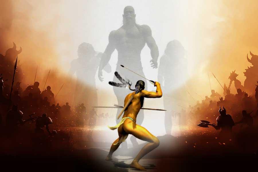 Kembalinya Nephilim, Ras Raksasa Purbakala ke Dalam Dunia Pasca-Banjir Besar Menghancurkan Bumi