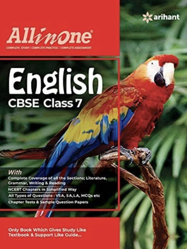 CBSE English Class 7th (All In One NCERT Based)