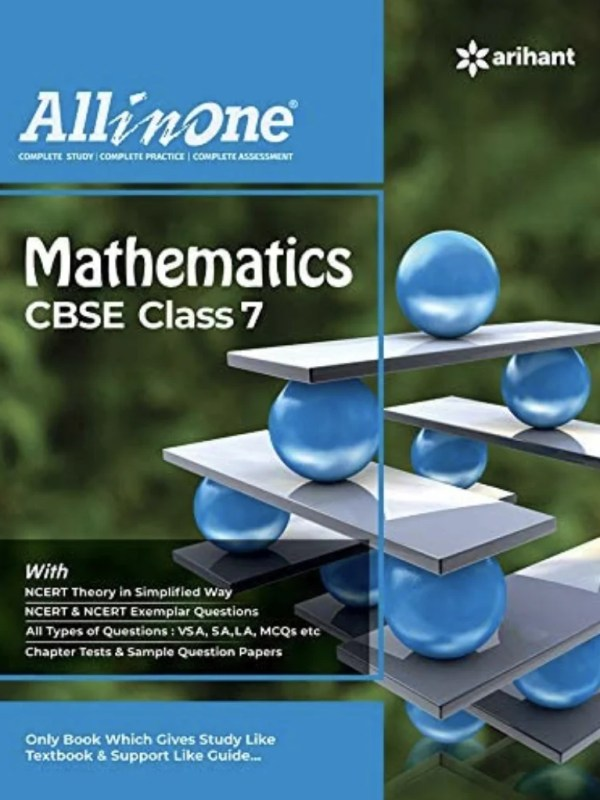 CBSE Math Class 7th (All In One NCERT Based)