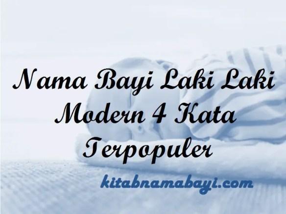 Nama Bayi Laki Laki Modern 4 Kata