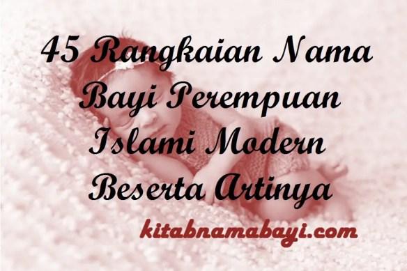 Rangkaian Nama Bayi Perempuan Islami Modern
