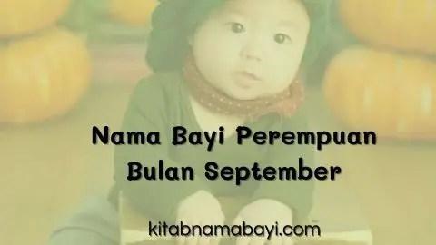 nama bayi perempuan bulan september