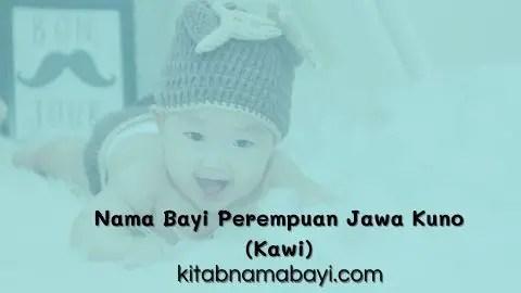 nama bayi perempuan jawa kuno (kawi)