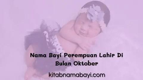 nama bayi perempuan lahir di bulan Oktober