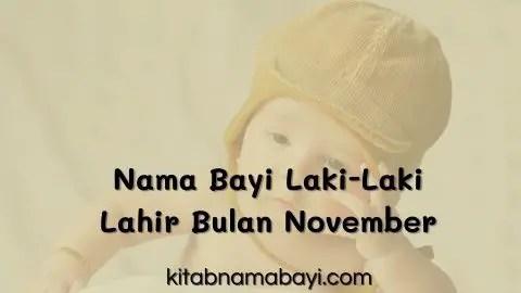 nama bayi laki-laki lahir di bulan november