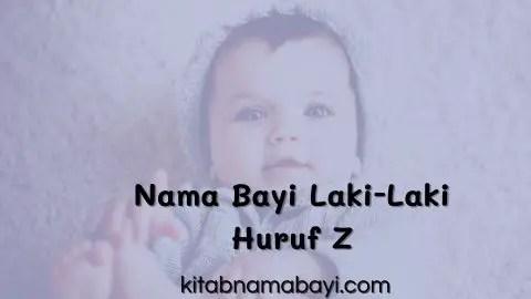 nama bayi laki-laki huruf z