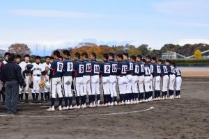 第40回 関東連盟 秋季大会 チャレンジトーナメント準決勝vs栃木ポニー