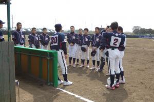 2018年3月18日 関東連盟春季大会(ポニー)vs江東タイヨー