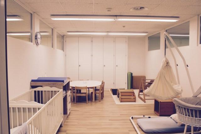 Babyzimmer & Elterncafe Kita Kiriku Luzern