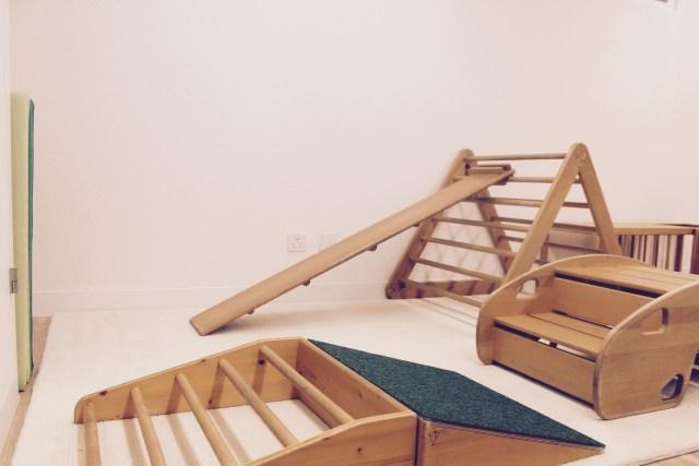 Emmi Pikler Bewegungsspielsachen Babyzimmer