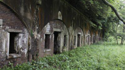 森に眠る戦争遺跡 【高蔵山堡塁】
