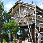 「土蔵の家」木工事2
