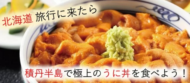 北海道旅行で積丹半島で極上のウニ丼を食べる