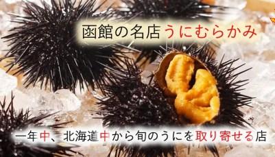函館ウニの旬は?一番旨い時期におすすめの名店うにむらかみで食べる