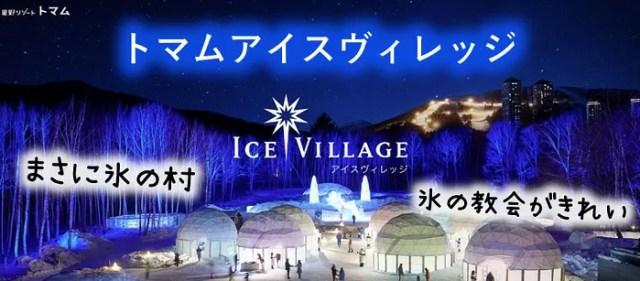 【トマムアイスヴィレッジ】氷の街に潜む4つの魅力