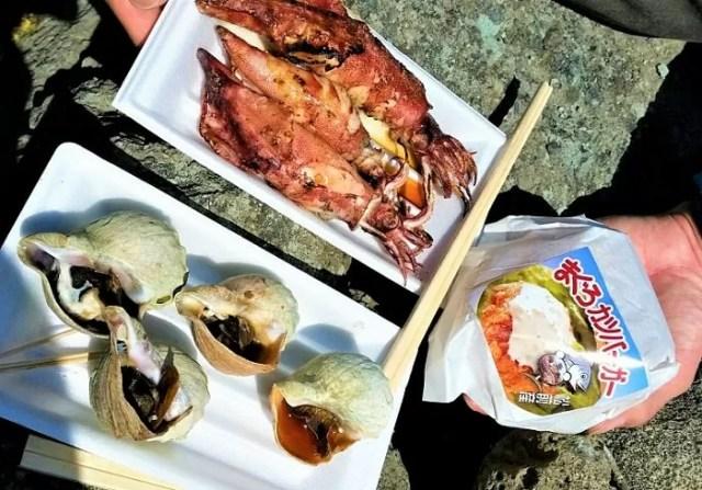 松前桜まつり 食べ物