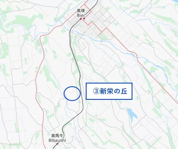 新栄の丘 マップ