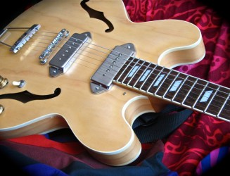 Epiphone Casino – April 2012 – close-up