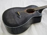 Schecter Hellraiser Studio Acoustic – body side view