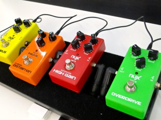 MM 2015 – Nux pedals