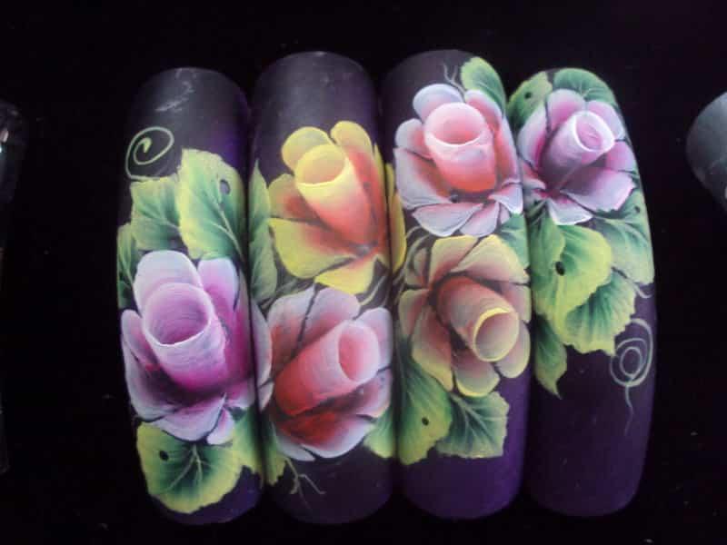 Картинки китайской росписи ногтей