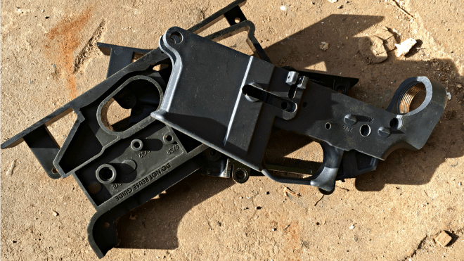 Milling our a TAC 80% Polymer Lower Part 2 | Kit Badger