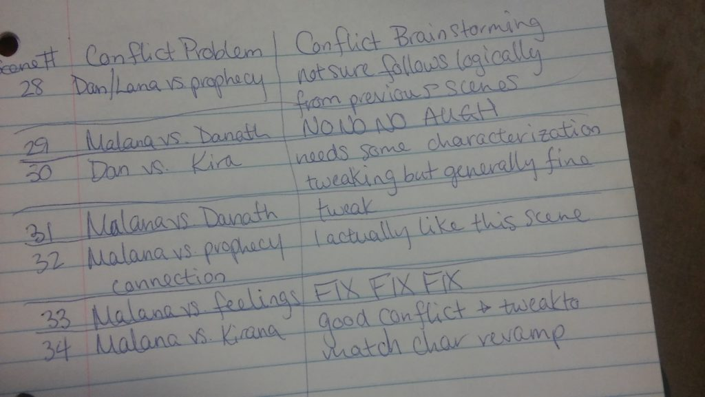Editing Notes