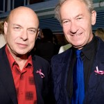 Brian Eno and Simon Schama
