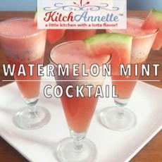 KitchAnnette Watermelon Mint Cocktail Feature