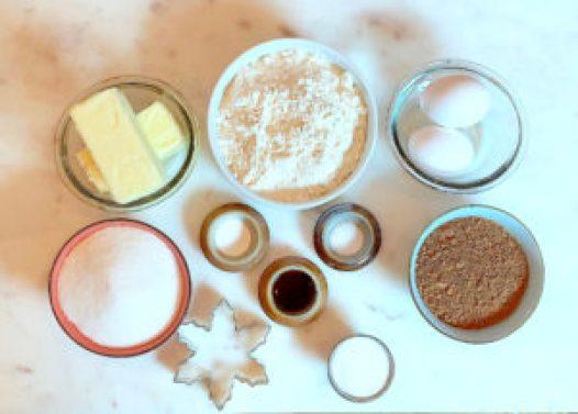 KitchAnnette Choc Snaps Ingredients