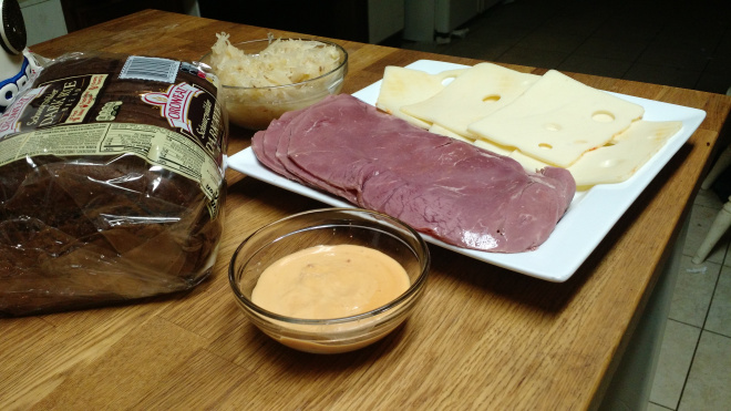 Fast and Easy Reuben Sandwiches