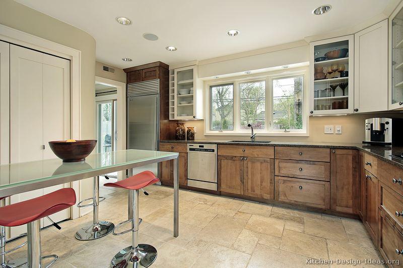 Two Tone Kitchen Grey And White Novocom Top