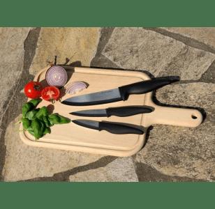 3 teiliges Keramikmesser-Set für nur € 18,86