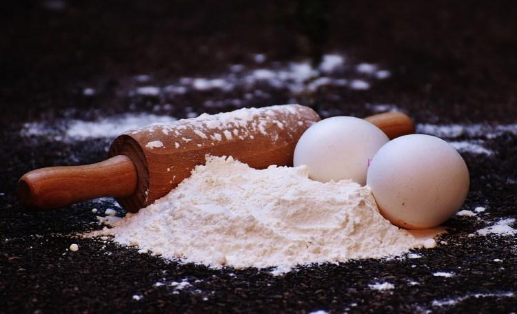 Nudeln selber machen mit Nudelholz