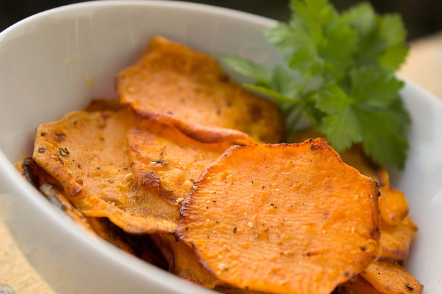 Chips aus der Heissluftfritteuse
