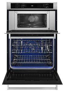 30 combination wall oven with even heat true convection lower oven
