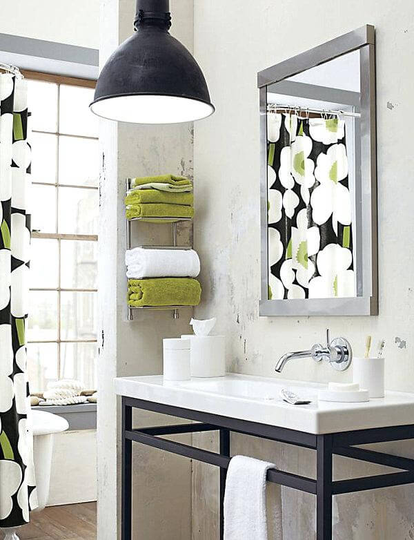 7 Ways To Maximize The Space In Your Small Bathroom Layout Small Bathroom Towel Storage Kitchen Bath Classics