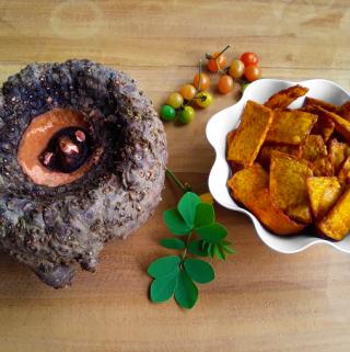 Surna Kachri – Crispy Hot Deep-Fried Yam Chips (Vegan + Gluten Free)