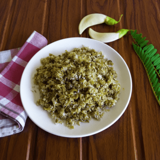 Agasthya Phulla Upkari – A stir-fry of good health (Vegan + Gluten Free)