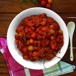 Cherry Tomato Pickle - Landscape