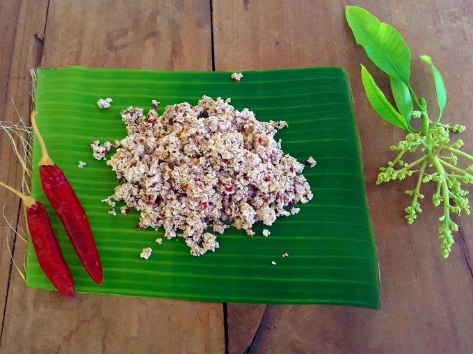 Mango Blossom Chutney / Ambya Phulla Chutney