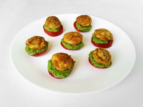 Egg Mint 'Matoes - A starter, a snack and a gourmet delight!